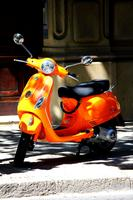 Orange Scooter