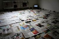 Newspaper Floor