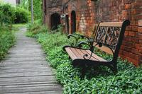 Bench and Bricks